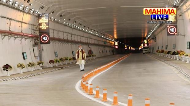 atal tunnel modi