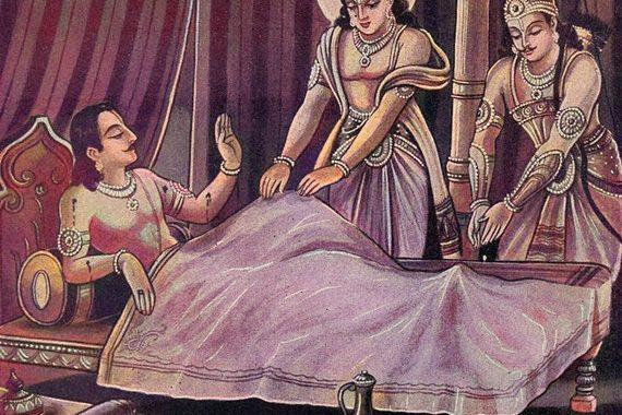 mahabharat story arjun yudhistir