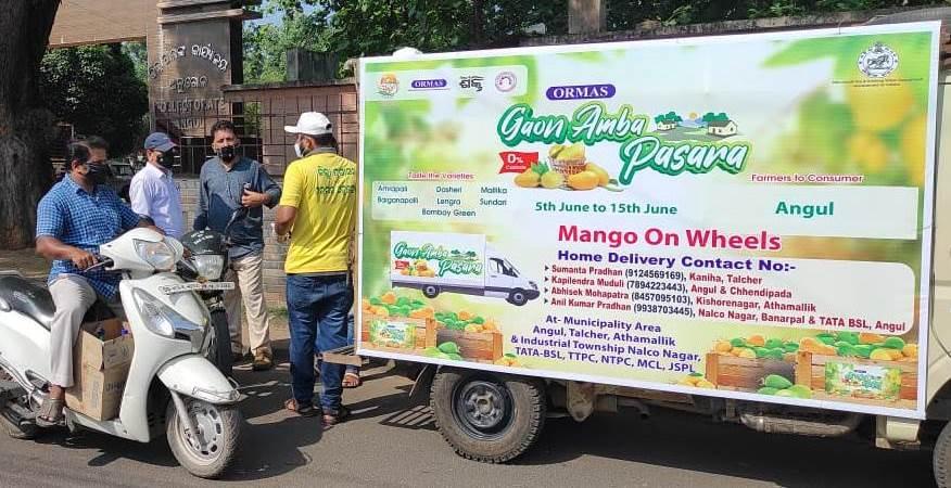 mango on wheels